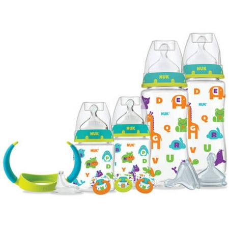 NUK Perfect Fit Newborn Bottle Gift Set, BPA-Free