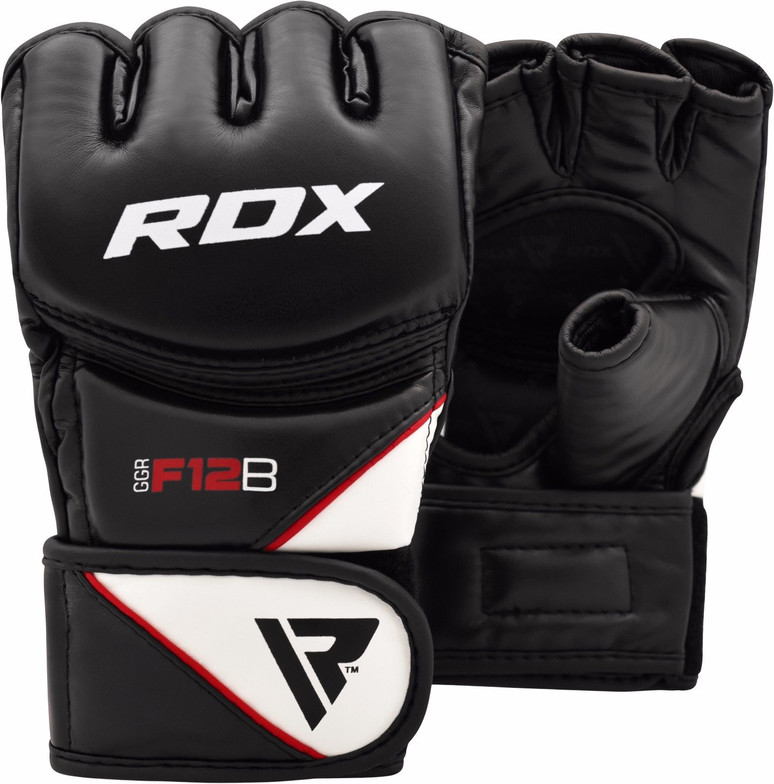 RDX MMA F12 Grappling Gloves, Blue, X-Large