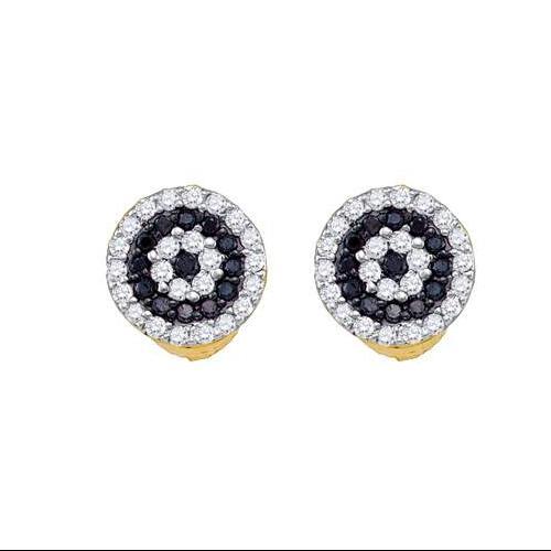 0.26Ctw Black Diamond Fashion Earring
