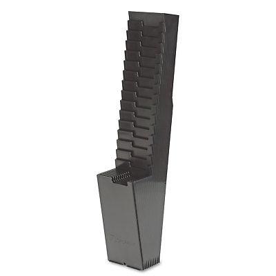 Acroprint 25-Pocket Expanding Time Card Rack Plastic Black 810118000 by