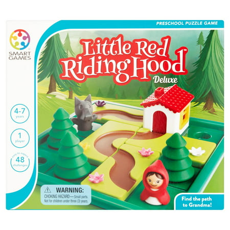Smart Games Little Red Ridding Hood Deluxe Preschool Puzzle Game - High School Rally Games