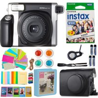 Fujifilm INSTAX 300 Photo Instant Camera With Fuji Film Instax Wide Instant  (20 Shots) Accessories Kit Bundle Case, Album, Frames, Lens and More
