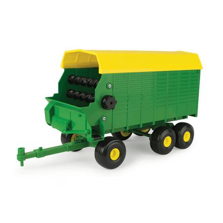 TOMY ERTL John Deere Big Farm Forage Wagon 1/16 Scale