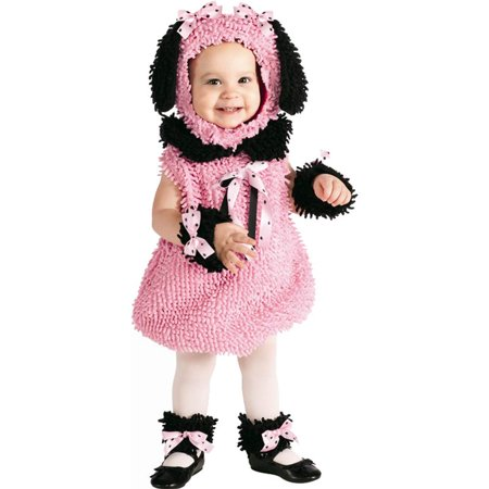 Precious Pink Poodle Toddler Costume - Poodle Costume Toddler