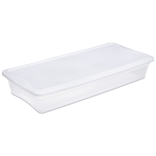 Sterilite 41 Qt. Underbed Storage Box (Set of 6)