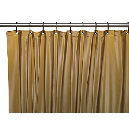 Park Avenue Deluxe Collection Park Avenue Deluxe Collection Hotel Collection  8 Gauge Vinyl Shower Curtain Liner W  Weighted Mag