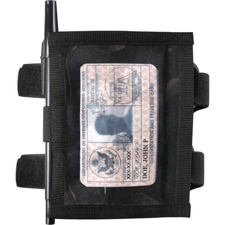 Rothco Military Style Armband ID Holder - Black