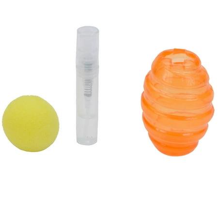 Coastal® Turbo® Turbo Scent Locker Ball Cat Toys with 2.5 Inch Football Catnip Spray