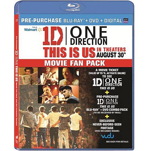 One Direction: This Is Us (Pre-Purchase Blu-ray) (Widescreen)