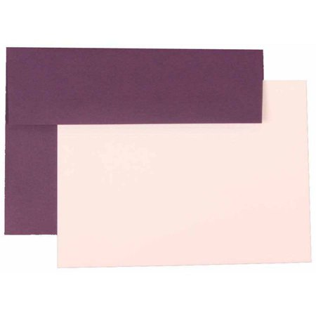 jam paper personal stationery sets with matching a7