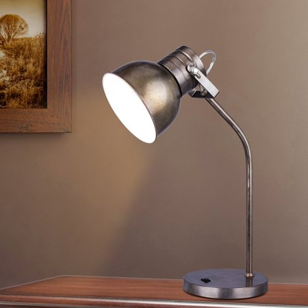 Rust Wall Lamp - Martin Richard W-1540 21.5 in. Metal Desk Lamp - Rust Brushed Steel