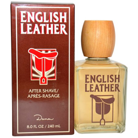 Dana English Leather for Men After Shave Lotion Splash, 8