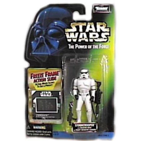Star Wars: Power of The Force Freeze Frame Stormtrooper Action Figure, New in Package By Kenner](Stormtrooper For Sale)