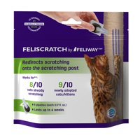 Feliway Feliscratch Behavioral Aid for Cats, 9 Pipettes