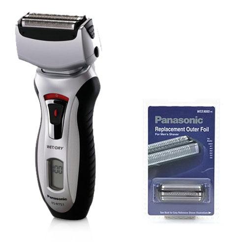Panasonic ES-RT51S Mens Nanotech Wet / Dry Shaver With Replacement Foil