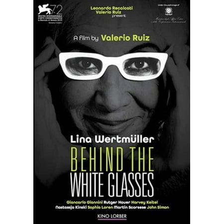 Behind the White Glasses (Scorsese Glasses)
