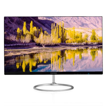 VIOTEK HA238 24-Inch Ultra-Thin Computer Monitor — Upgraded 75Hz, Full HD (1920x1080P), Bezel-less Widescreen Display | VGA, HDMI (Hdmi Display Monitor)