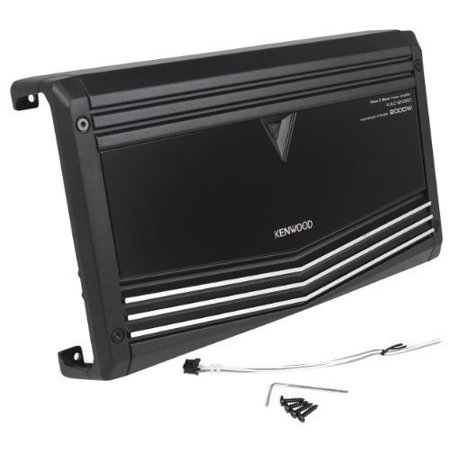Kenwood KAC-9106D 2000 Watts Peak/1000 Watts RMS Mono Block Class D Car Amplifier With Speaker Level