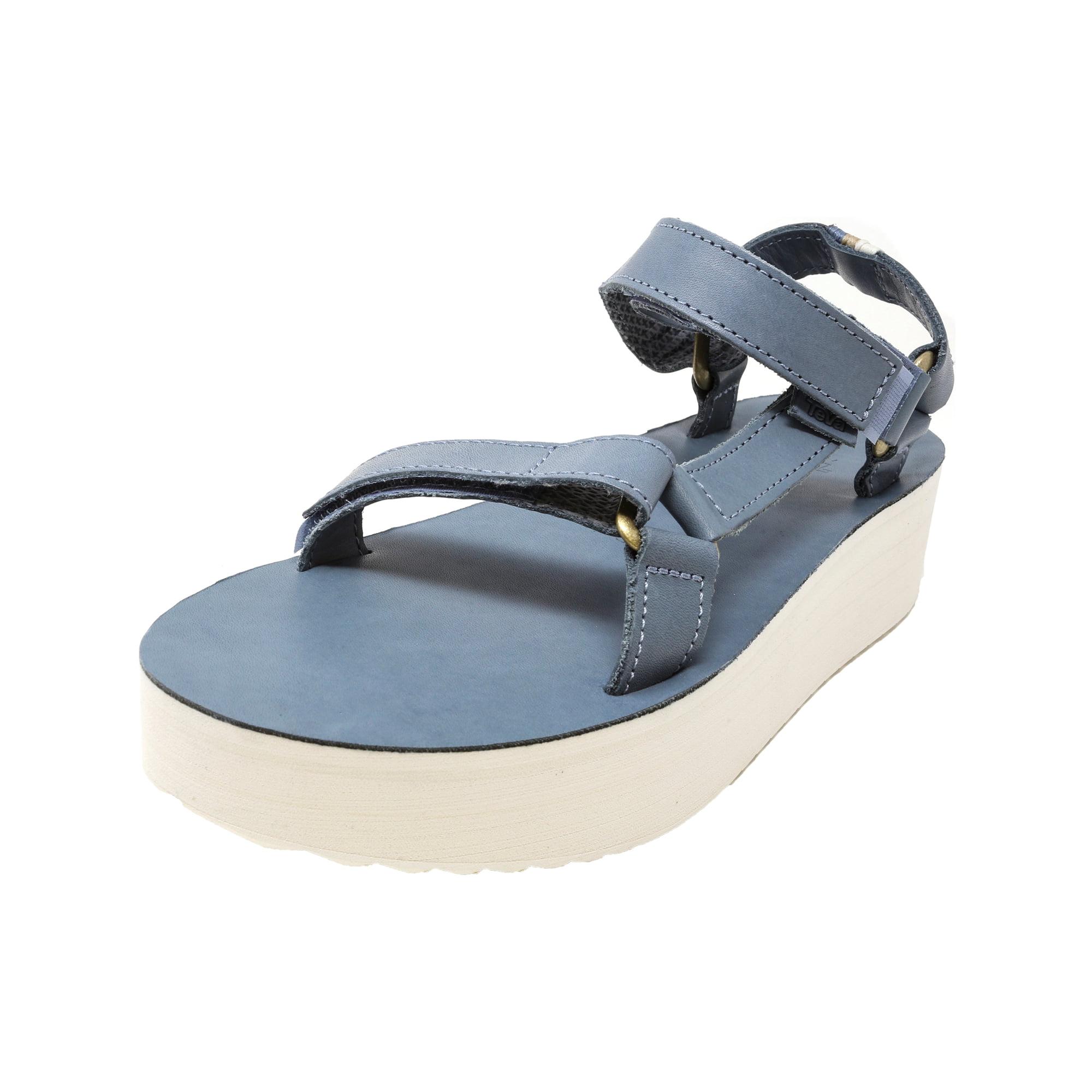 0e7e6bd1737d Teva Women s Flatform Universal Crafted Citadel Ankle-High Leather Sandal -  6M