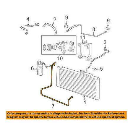 dodge chrysler oem 06 09 ram 3500 ac a c air conditioner. Black Bedroom Furniture Sets. Home Design Ideas