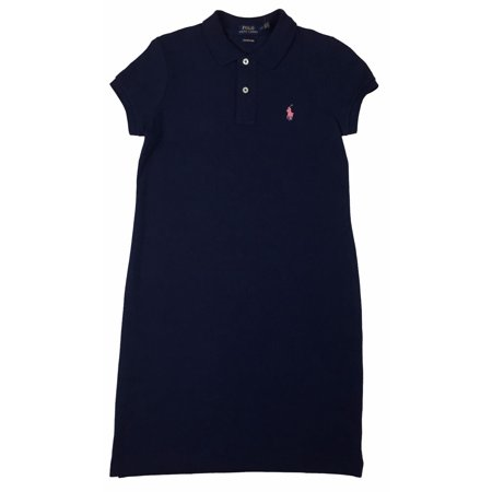 f1fce86a37b0 Polo Ralph Lauren - Ralph Lauren Polo Womens Pony Logo Mesh Mini Dress  Navy/White/Pink/Blue New (Navy/Pink,XS) - Walmart.com