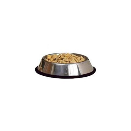 classic pet products 16oz stainless steel non-tip dog bowl