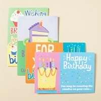 Card-Boxed-Birthday-Birthday Cake (Teen) (Box Of 12)