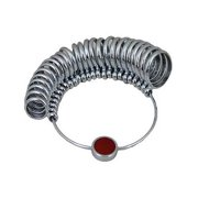 JSP 36-Piece Metal Ring Sizer - Check Ring Size at Home