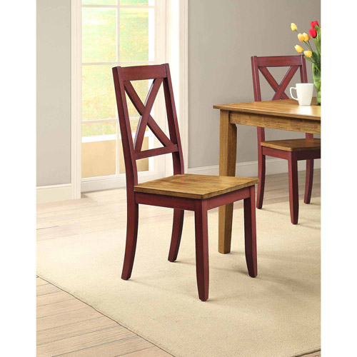 Amazing Better Homes And Gardens Maddox Crossing Dining Chair, Red, Set Of 2