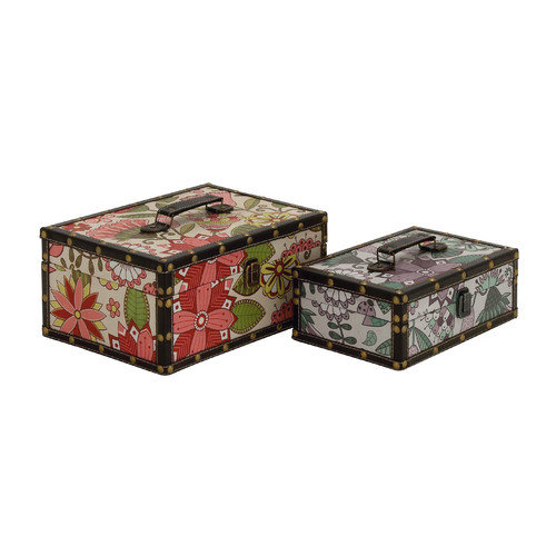 Woodland Imports 2 Piece Fantastic Wood / Vinyl Box Set