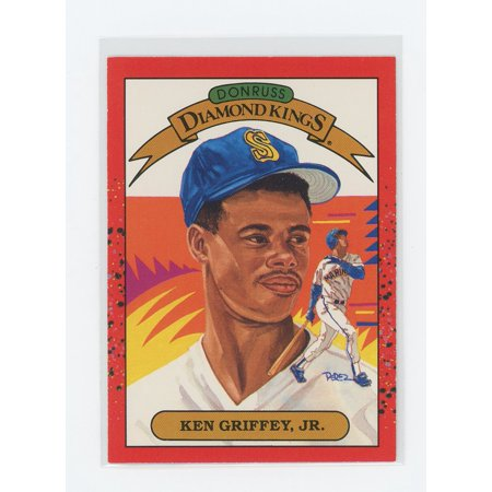 1990 Donruss Diamond Kings #4 Ken Griffey Jr. Mariners 2nd Year -