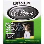 Rust-Oleum Specialty Black Chalk Board Paint, 30 fl oz.