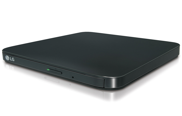LG Slim Portable DVD Writer DVD Disc Playback & DVD M-DISC Support by LG
