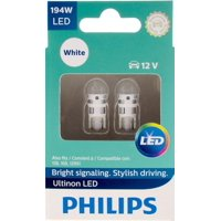 Philips Ultinon LED 194WLED, W2,1X9,5D, Plastic, Always Change In Pairs!