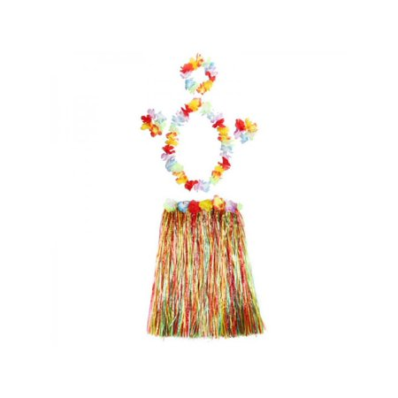 Hula Grass Skirts (Nicesee Baby Girls Christmas Hula Grass Colorful)