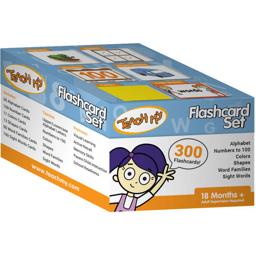 Teach My Flashcard Set