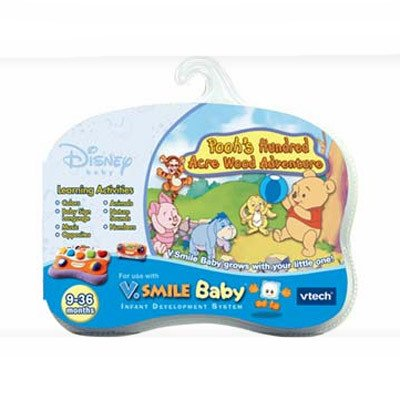 - V.Smile Baby - Pooh's Hundred Acre Wood Adventure, Compatible with V.Smile Baby learning system By VTech Ship from US