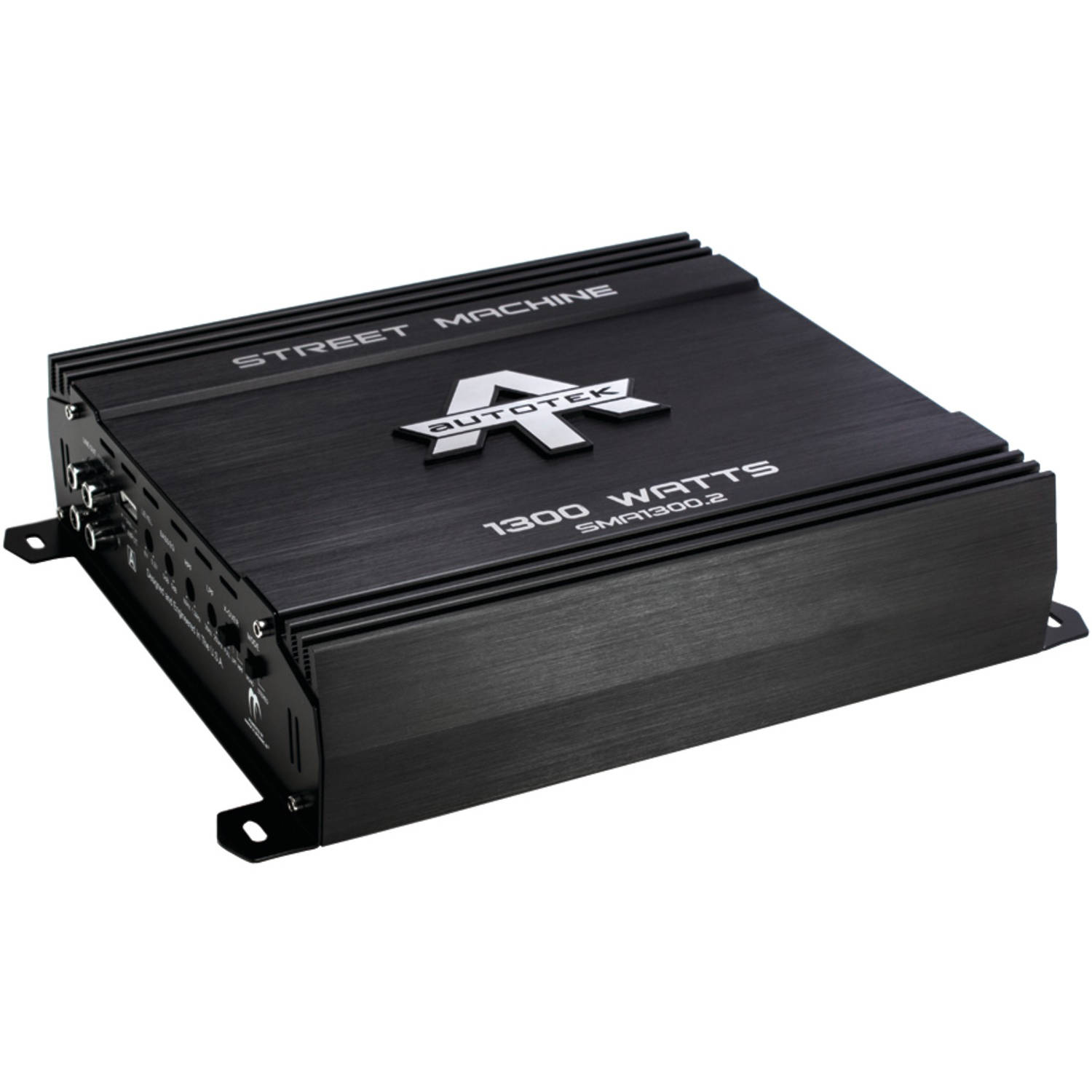 Autotek SMA1300.2 Street Machine 2-Channel Class AB Amp, 1,300 Watts