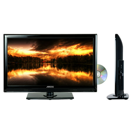 "TVD1801-22 22"" LED AC/DC TV with DVD Player Full HD with HDMI, SD card reader and USB"