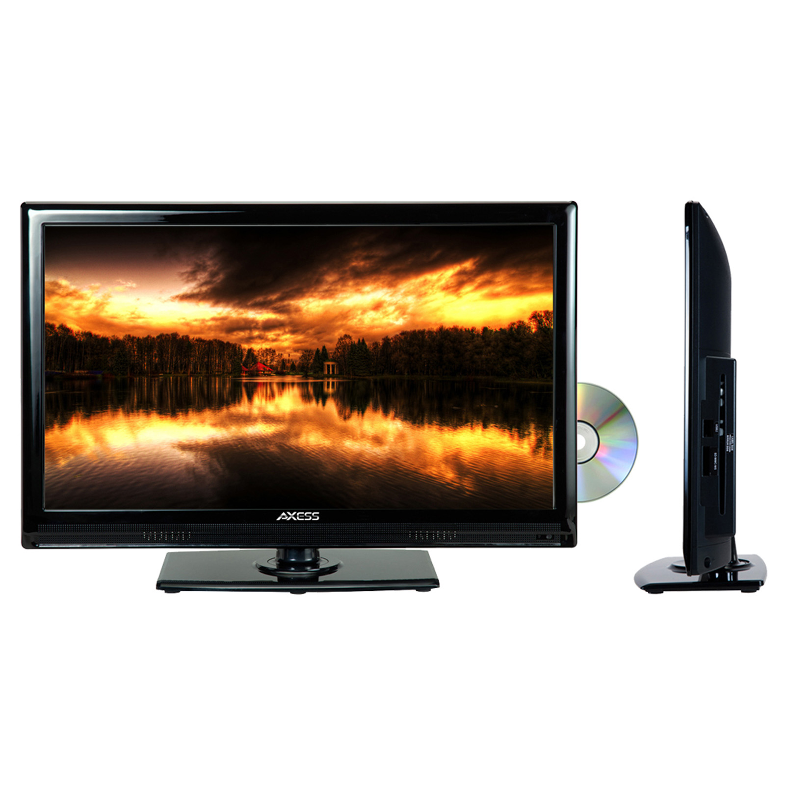 """TVD1801-22 22"""" LED AC/DC TV with DVD Player Full HD with HDMI, SD card reader and USB"""