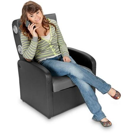 X Rocker Triple Flip 2.0 Storage Ottoman Sound Chair, Black/Gray, 0711701 -  Walmart.com - X Rocker Triple Flip 2.0 Storage Ottoman Sound Chair, Black/Gray