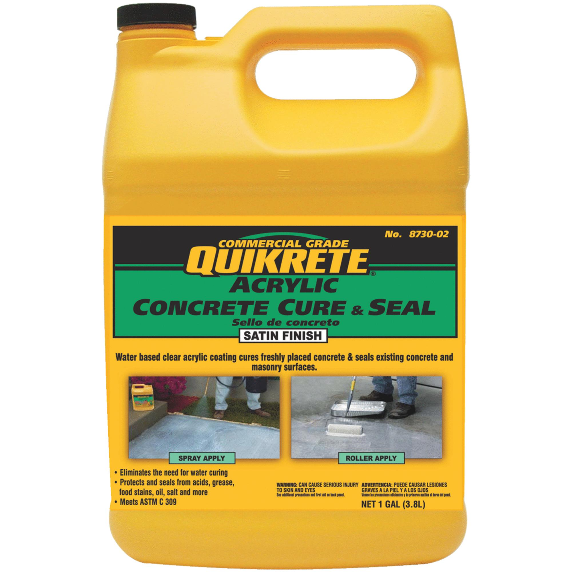 Quikrete Concrete Cure And Seal Satin Finish Concrete Sealer by Quikrete