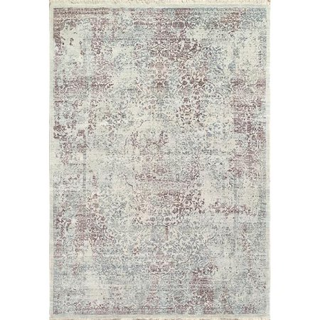 Dynamic Rugs ER469667130 4 ft. x 5 ft. 5 in. Eternal 9667 Rectangle Contemporary Area Rug - 130 Ivory & Red - image 1 de 1