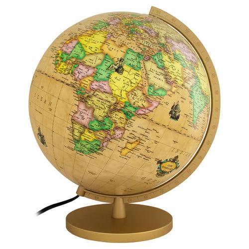 Columbus Globe Renaissance Illuminated Globe