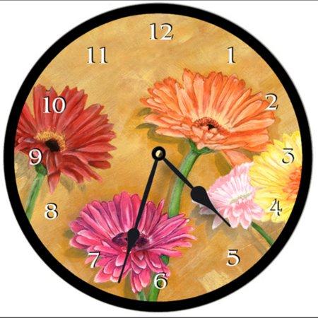 Lexington Studios Gerber Daisies Wall Clock