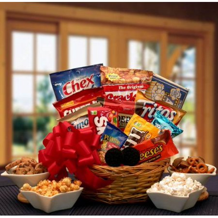 Super Snack Lovers Sampler Gift Basket