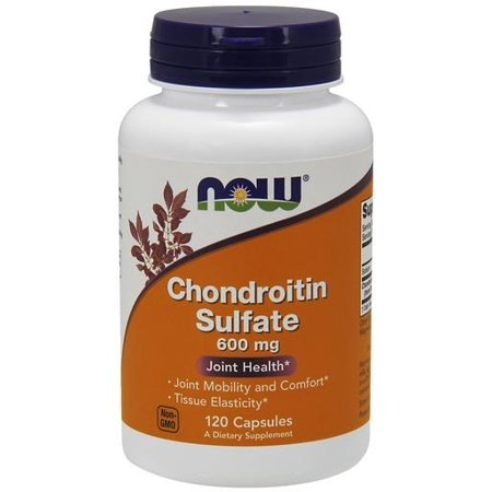 Chondroitin Sulfate 600mg Now Foods 120 Caps (Foods 120 Caps)