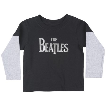 a31f24bbd0 Toddler The Beatles Layered Foil Long Sleeve T-Shirt Boys