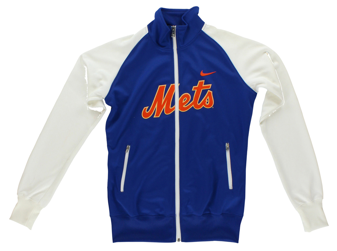 Nike Womens MLB New York Mets Track Jacket Blue M by Nike