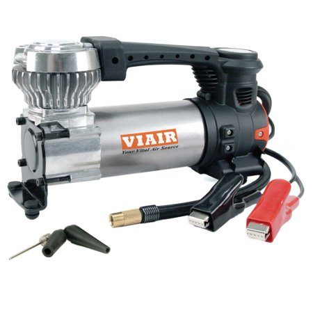 Viair Compressor - Viair 88P Portable Compressor Kit w/ Power Cord and Air Hose for Tires up to 33